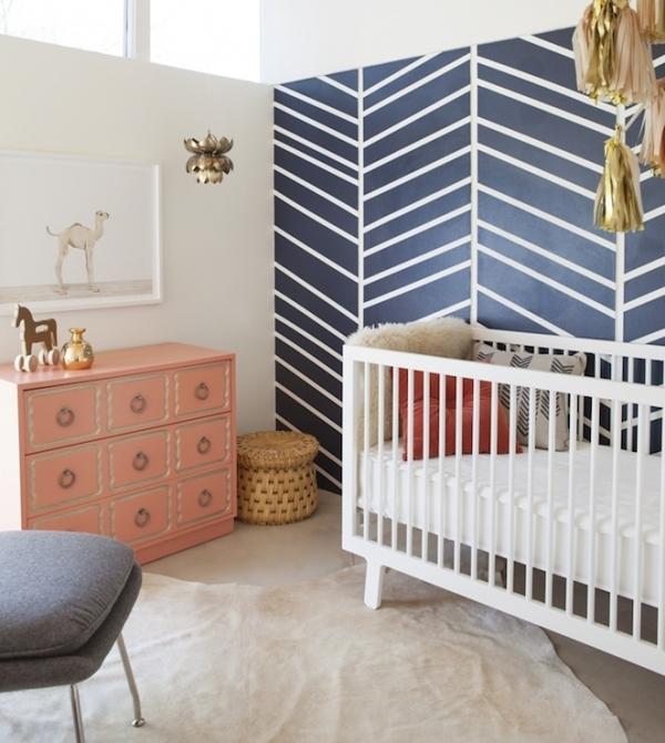 Navy Blue White 13 Trendy Nursery Color Scheme Ideas