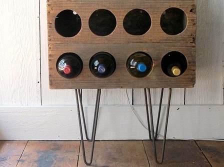 Crate 15 easy diy wine racks to make lifestyle for Crate wine rack diy