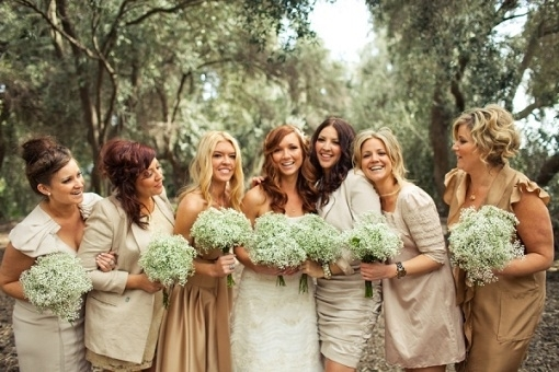 Rustic Bridesmaid Dresses For A Fall Wedding Country Rustic Bridesmaids