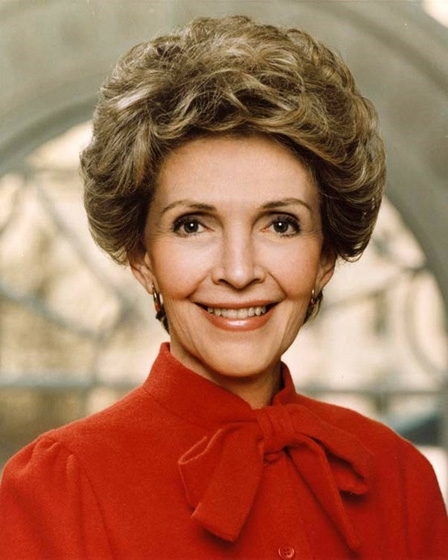 Nancy Reagan, Former First Lady of The United States of America