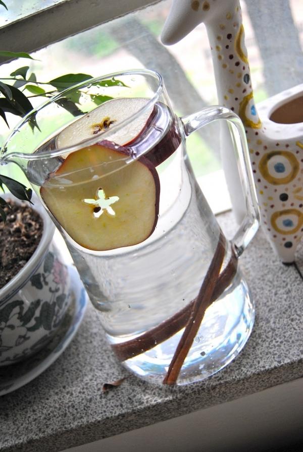 Cinnamon Apple Water
