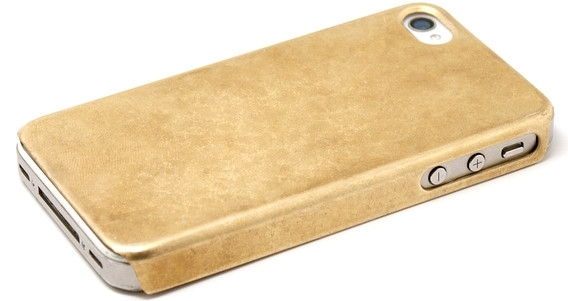 Miansia's Solid Gold IPhone Case
