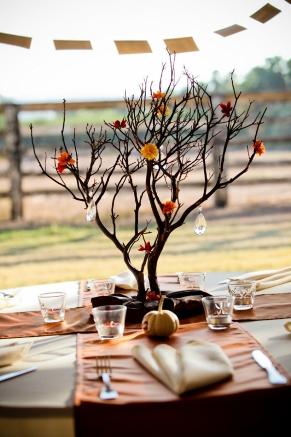 Rustic Branch Centerpiece