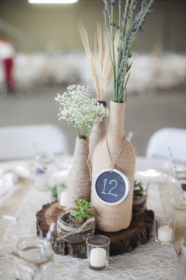 21 rustic wedding centerpiece ideas this rustic wedding centerpiece is one of my favorites that is trending right now but will never go out of style its an easy diy to put together too junglespirit Choice Image