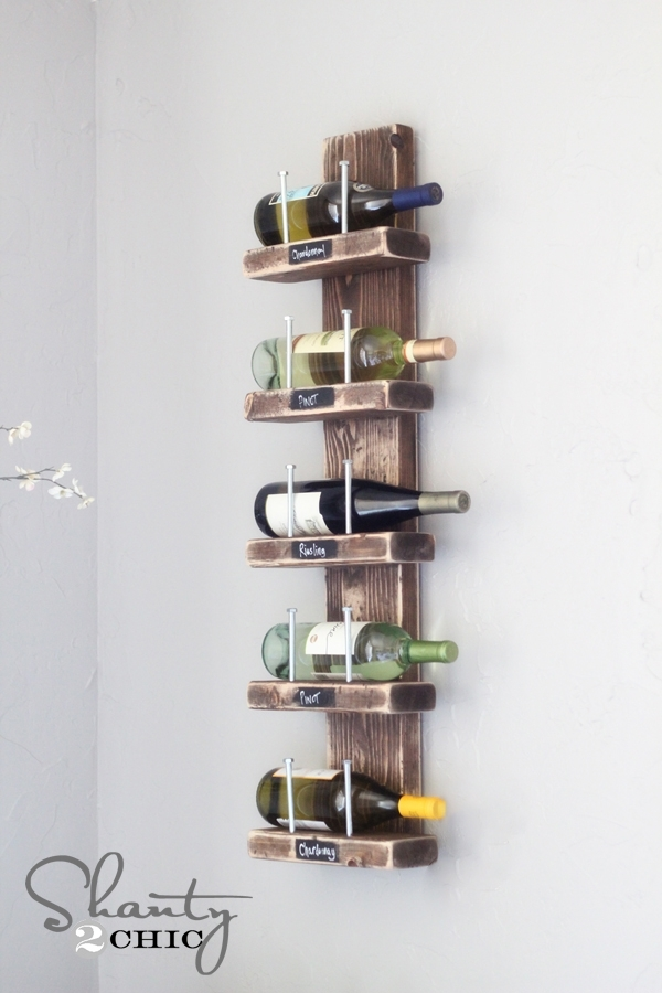 wood and nails 15 easy diy wine racks to make
