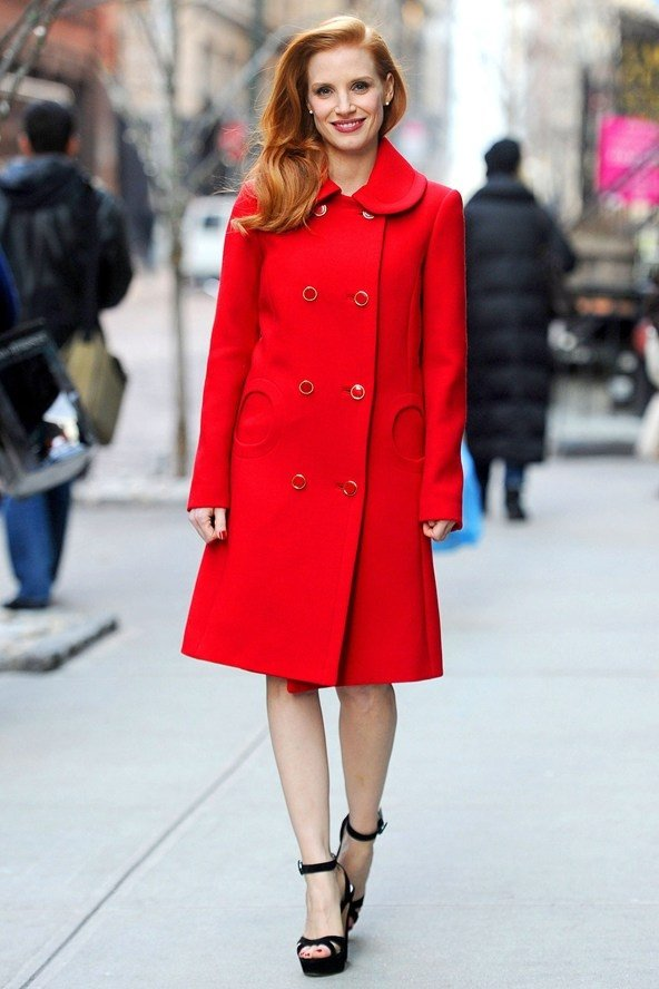 11 Celebrities Wearing Colourful Coats – Who Wore It Best? ... …