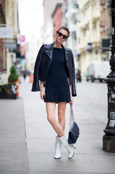 4. The Little Black Dress - 7 Fashionable Ways to Wear Your Leather…