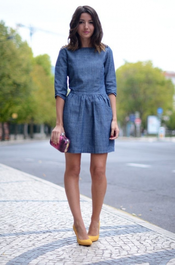 Denim Dress - 7 Fabulous Denim Trends to Try This Fall ... …