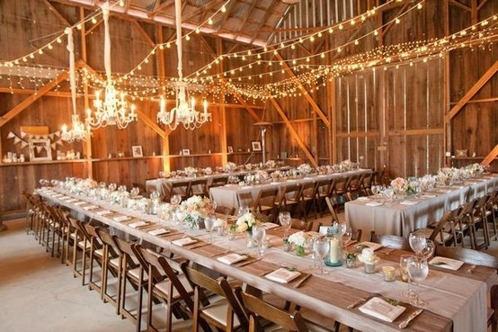 Country Rustic Reception...