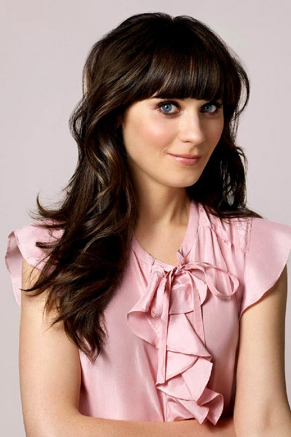 Zooey Deschanel Forehead The gallery for -->...