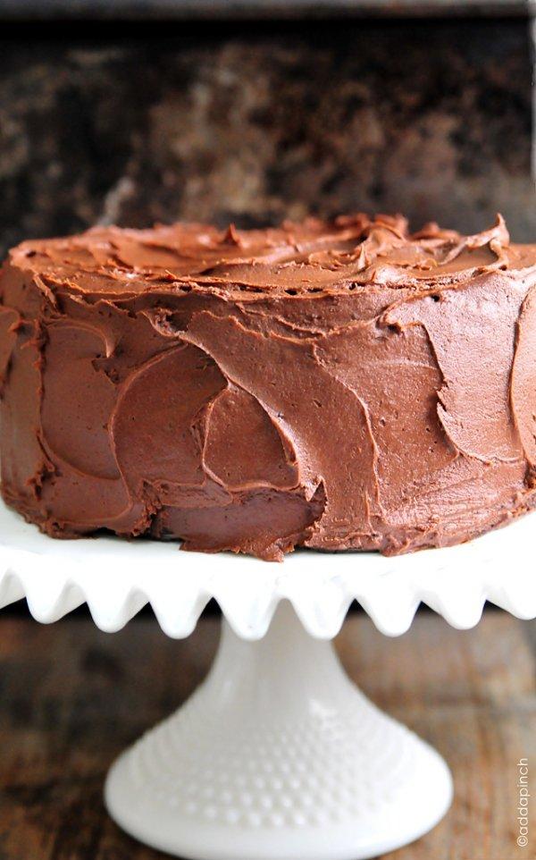 Classic Old Fashioned Chocolate Cake