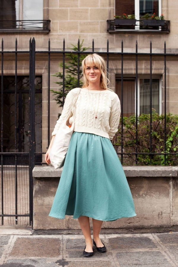 What To Wear With A Full Skirt 66