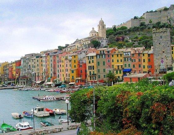 The Italian Riviera ...