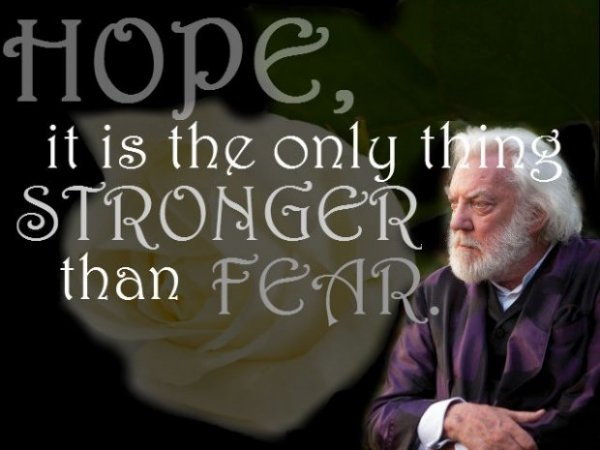 Quotes About Hunger Brilliant Power Of Hope  7 Inspiring Quotes From The Hunger Games Trilogy…