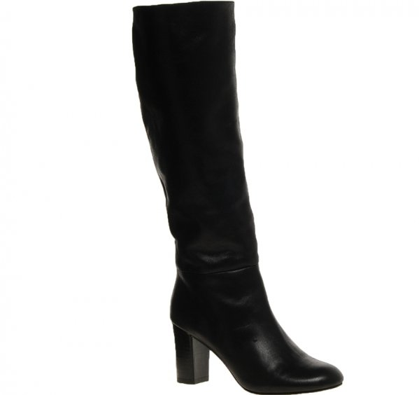 High Heeled Knee-High Boots
