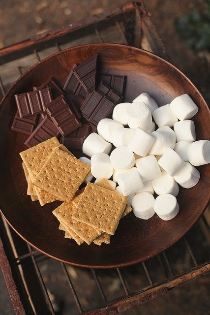 Fireplace S'mores - 7 Toasty and Warm Date Ideas for Cold Nights…