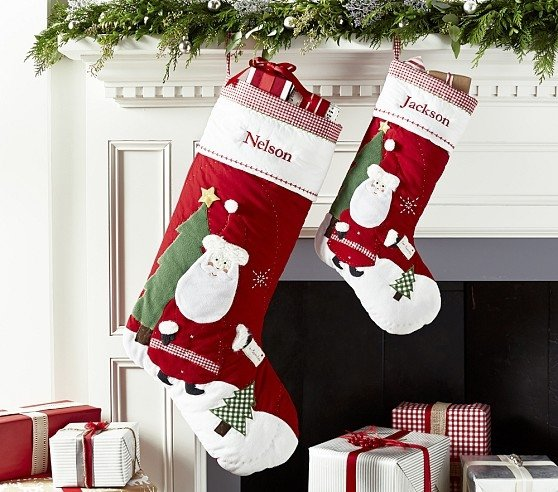 Embroidered Stockings