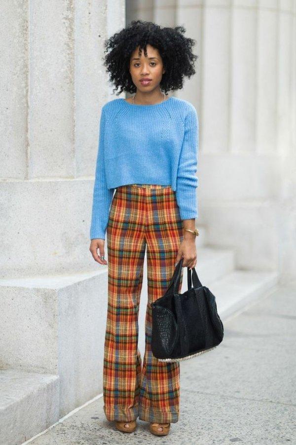 Retro Inspired 9 Street Style Ways To Wear Crop Tops