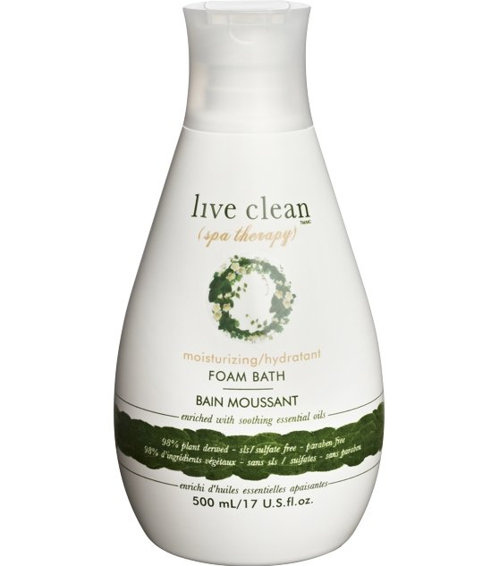 Live Clean Spa Therapy Foam Bath