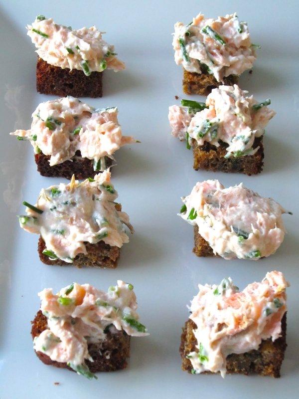 Smoked Salmon-Cardamom Spread Recipe