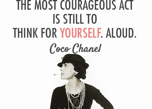 coco chanel 7 inspirational quotes by inspirational