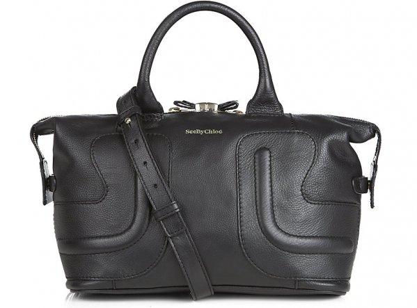 fake chloe bag - 2. See by Chloe Kay Leather Satchel Bag - 11 Best Black Satchel Bags��