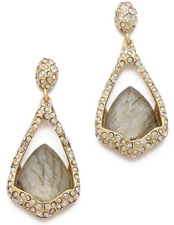 Alexis Bittar Suspended Labradorite Earrings