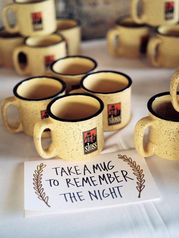 Personalized Wedding Favor Coffee Mugs : Mug Wedding Favors9 Charming Winter Wedding Ideas for the?