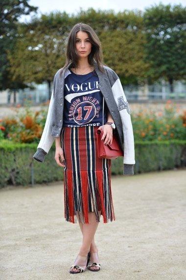 Alternative Americana 9 Street Style Ways To Wear A Varsity