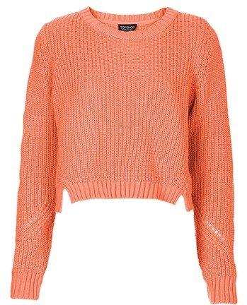 Ribbed Cropped Sweater - 7 Cute Cropped Sweaters That Will Keep…