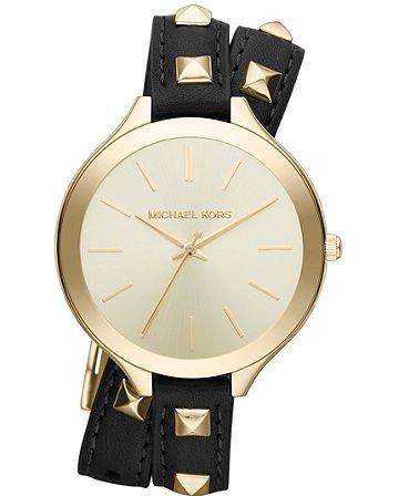 MICHAEL Michael Kors Slim Double Wrap Watch