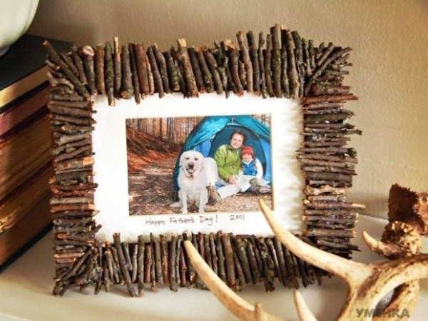 photo frame here is a homemade gift idea