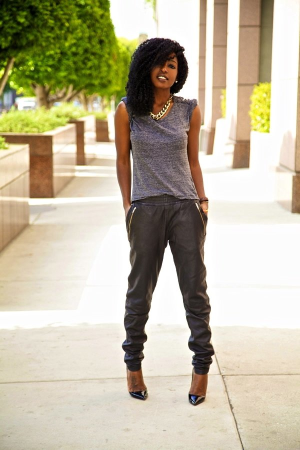 Amazing Denim Joggers  My Dream Closet  Pinterest