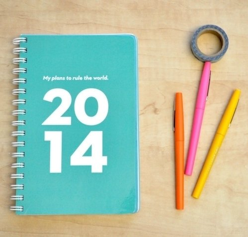 SugarandType 2014 Planner