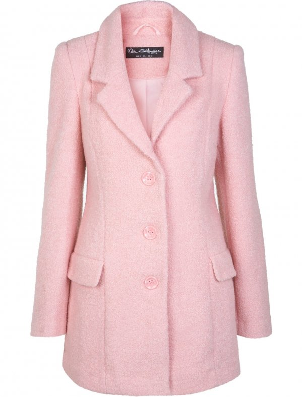 Pastel Pink Coats | Down Coat