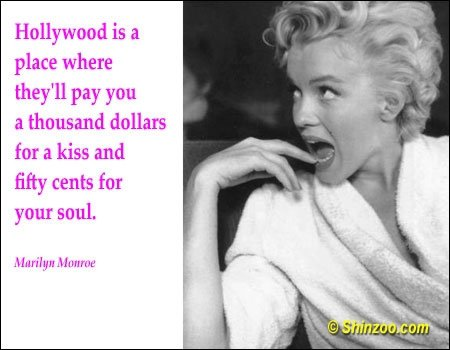 5 Famous Quotes About Love : Hollyweird - 7 Empowering Quotes from Marilyn Monroe ... ?