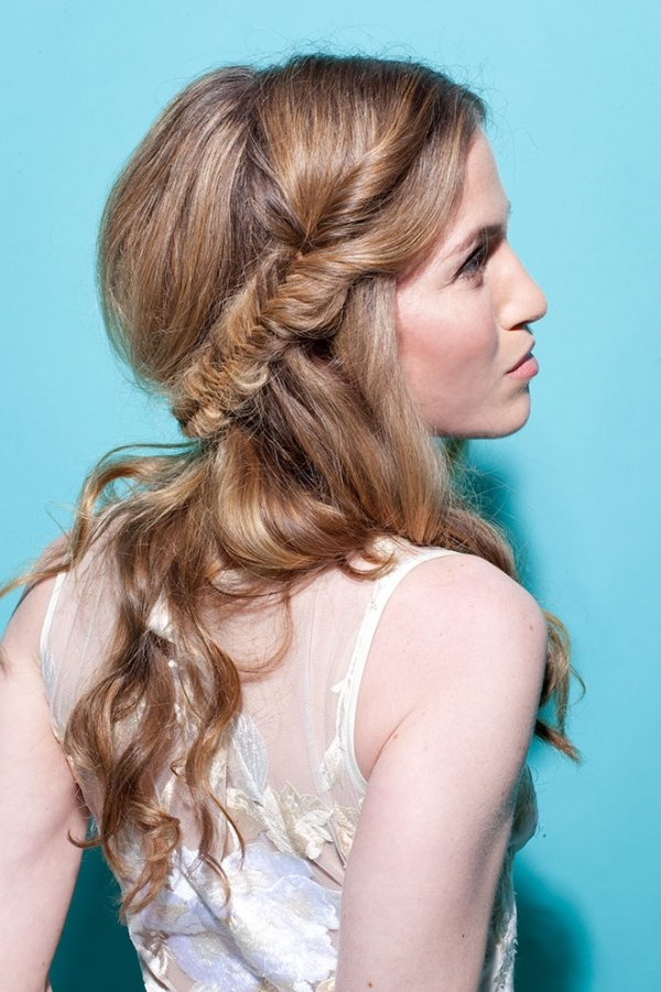Tremendous 11 Loose Half Braid 11 Bridal Hairstyles With Braids That Are Short Hairstyles Gunalazisus