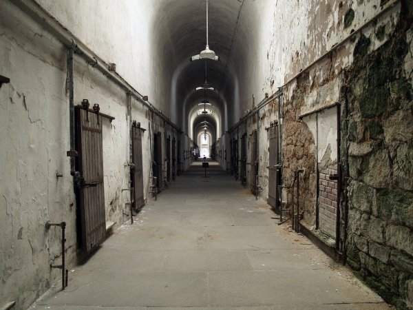 Eastern State Penitentiary Pennsylvania USA Most Haunted - Most eastern state in usa
