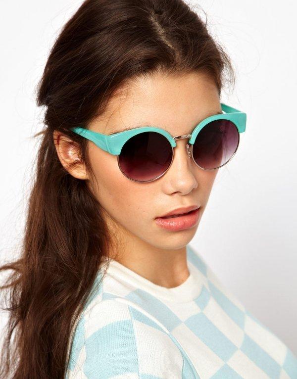 Half Frames - 7 Eye-catching Eyewear Trends for 2014 ... ?