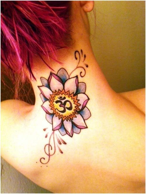 Om and Buddhism - 7 Awesome Yoga Tattoos You've Got to See