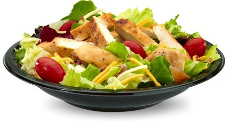 Image result for mcdonald's bacon ranch grilled chicken salad