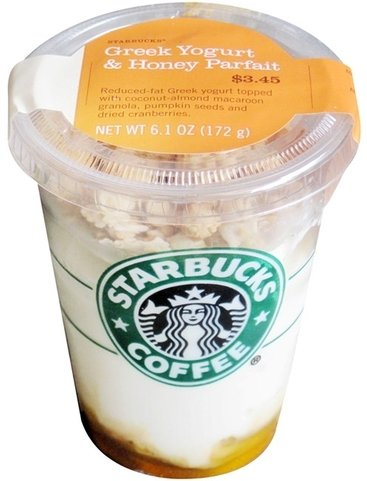 Starbucks Greek Yogurt with Honey Parfait - 7 Healthy Fast Food…