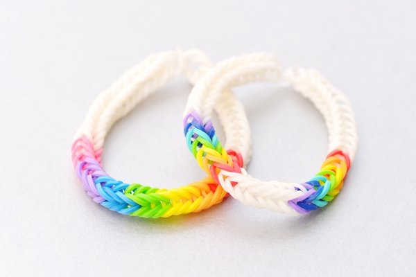 how to make rainbow loom bracelets easy but cool