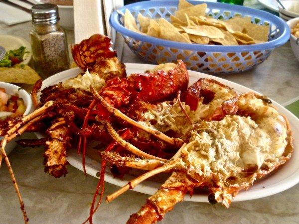 Puerto Nuevo Lobster Burritos