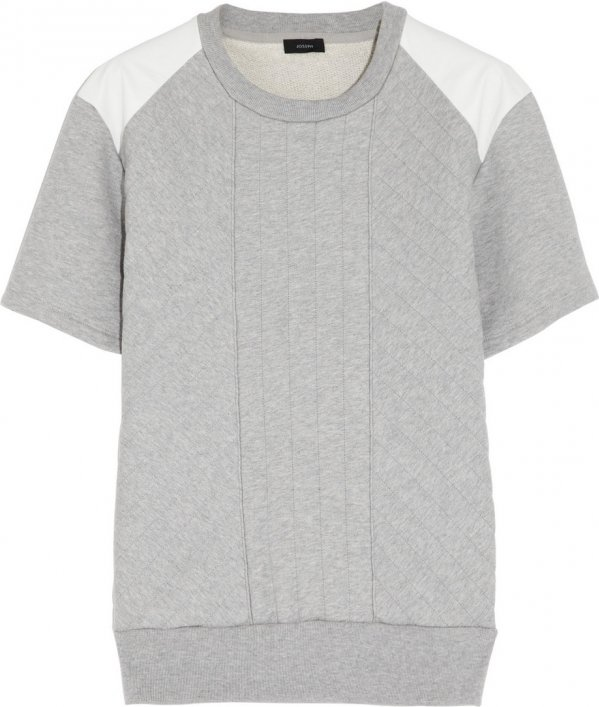 Joseph Quilted Cotton-Jersey Top - 9 Structured Tops Perfect for… : quilted cotton - Adamdwight.com