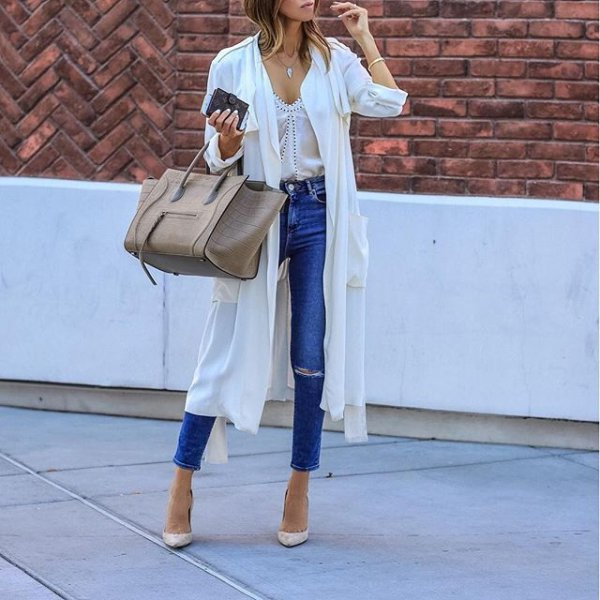 white, clothing, blue, spring, footwear,