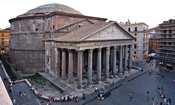 Rome's Pantheon Wasn't Built in a Day, Italy