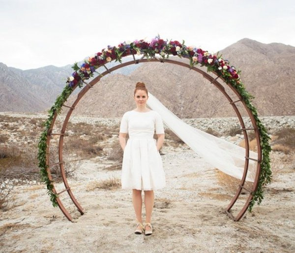 Wood Arch Decorations Ideas: 53 Wedding Arches, Arbors And Backdrops