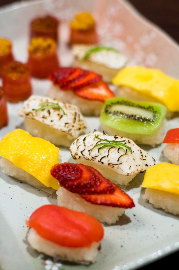 Fun Fruit Sushi