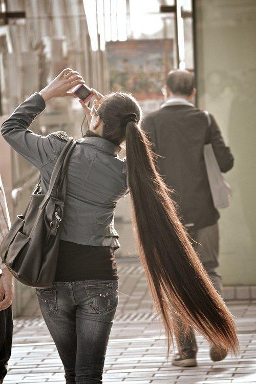 Hairstyles For Super Long Hair Think Rapunzel Hair